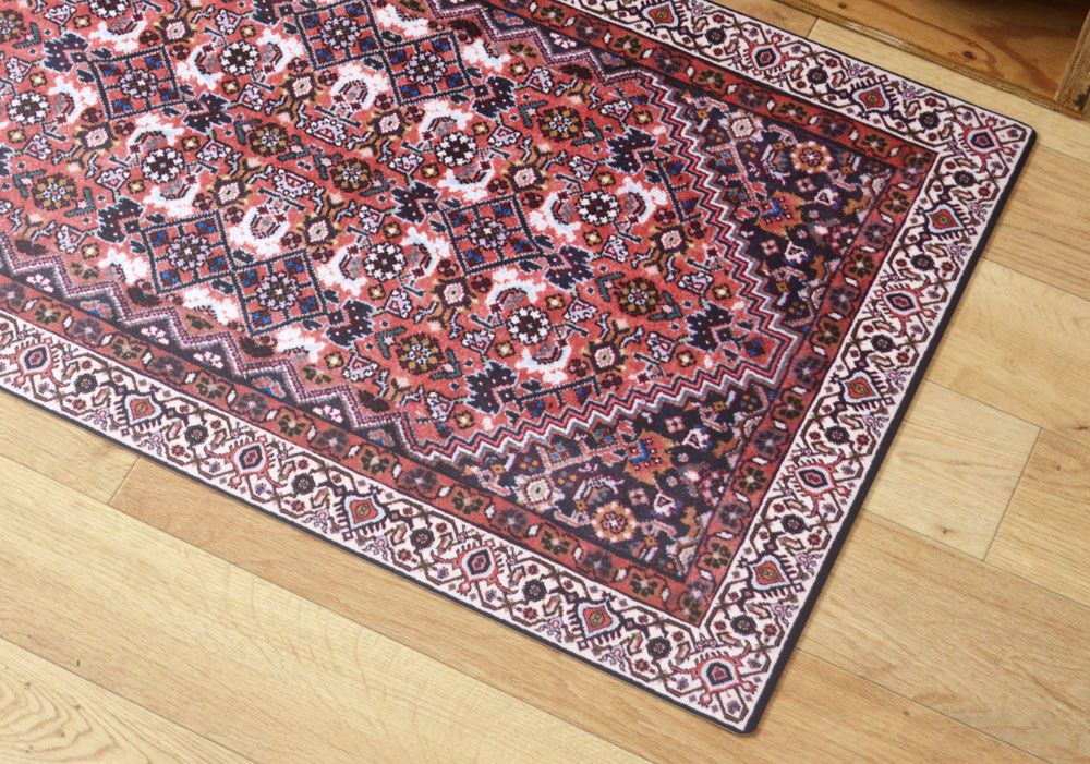 Persian Carpet 01 本物のペルシャじゅうたんのデザインを キッチンマットサイズにアレンジ