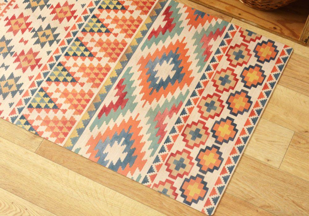Kilim 伝統的な手織りラグ「キリム」を イメージしたデザイン