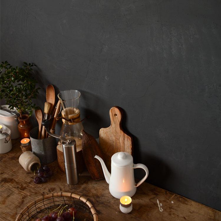 グレーの漆喰 シーオブナイト