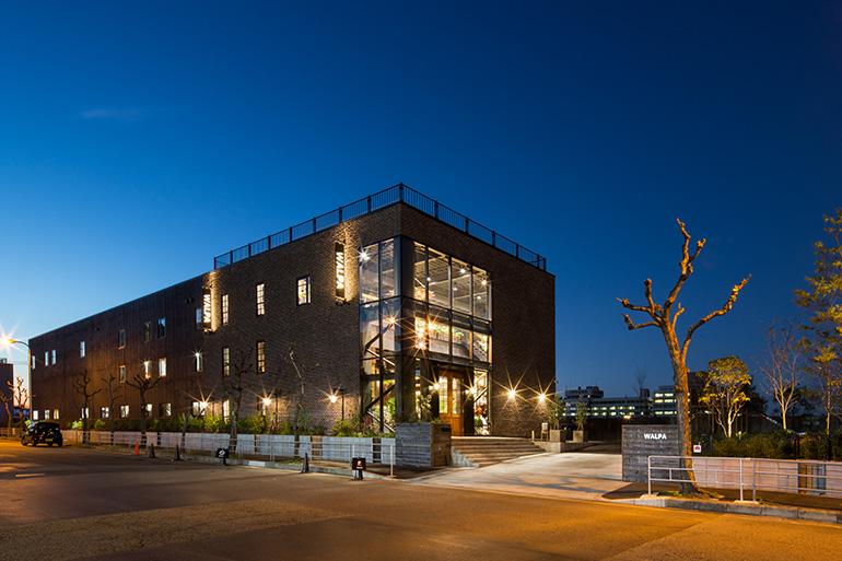 2015年に完成した本社ビル