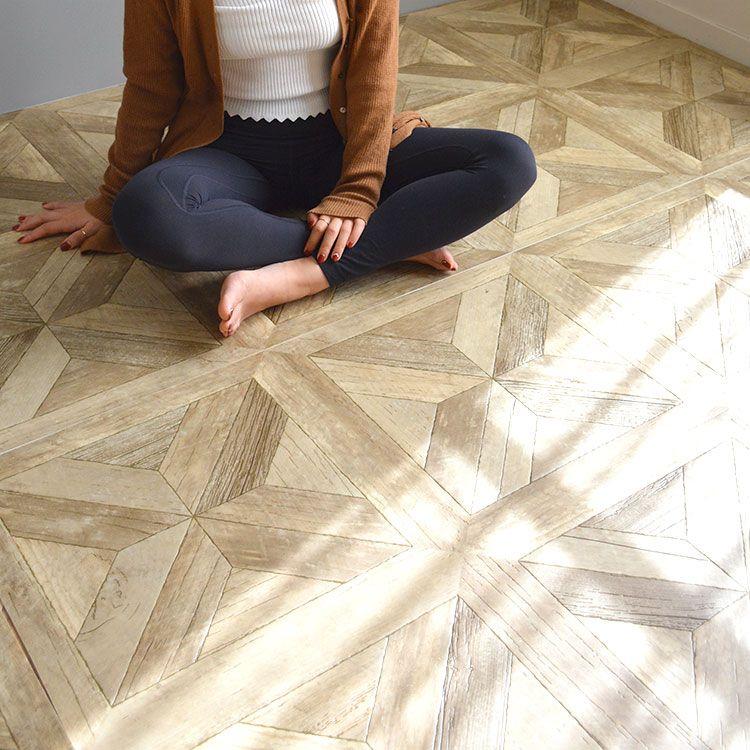 床材 クッションフロア パーケットフロア ナチュラルオーク
