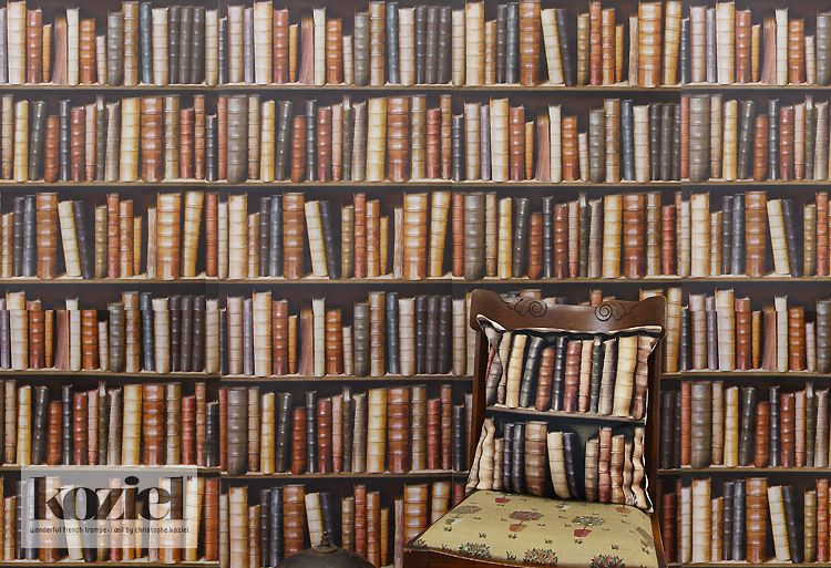 重厚感あるリアルな本棚